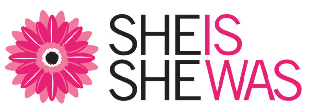She Is She Was Logo